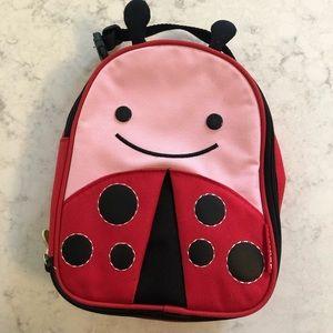 Skip Hop ladybug lunch box